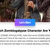 Take The Zomblog Character Quiz