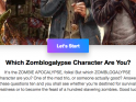 Take The Zomblog Character Quiz